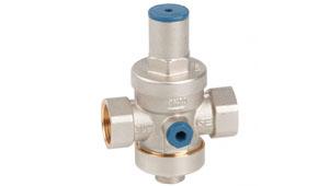 Redux-GE piston pressure reducer valve with filter
