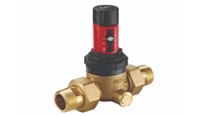 Rinoxdos pressure reducer piston valve