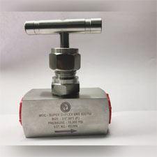Duplex Steel Needle Valve Manufacturer