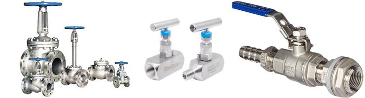 Stainless Steel Valves Manufacturers in India